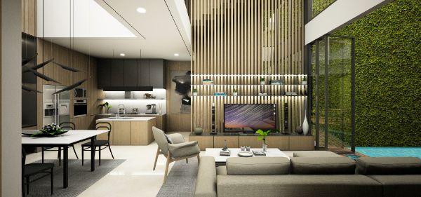 Interior Rumah Mewah Jakarta